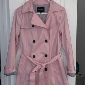 NWOT pink double breasted jacket